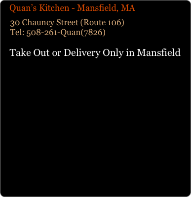 Quan S Kitchen Hanover Delivery